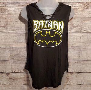 Batman hooded tank top